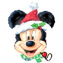 27吋 聖誕米奇 氣球<未充氣>