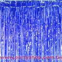 鋁箔門簾-藍[T3]
