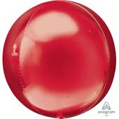 16吋 紅 鏡面立體正圓[T6]