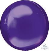 16吋 紫 鏡面立體正圓[T6]