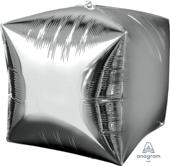15吋 銀 鏡面立體方型[T6]