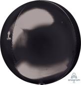 16吋 黑 鏡面立體正圓[T6]