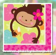 花朵猴-大紙巾[T3]