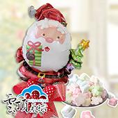 快樂聖誕老公公棉糖組_27272<客製商品需先付款>