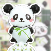 熊貓-日本手腕球<未充氣>