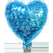 7吋愛心-鑽石淺藍[T10]
