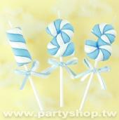 藍-棉花糖蠟燭0-9[T5]