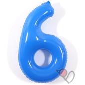 14吋 6-耐久數字-藍[T3]