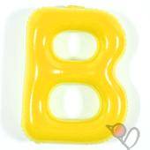 14吋 B-耐久字母-黃[T3]