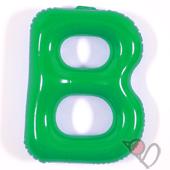 14吋 B-耐久字母-綠[T3]