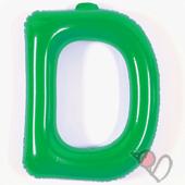 14吋 D-耐久字母-綠[T3]