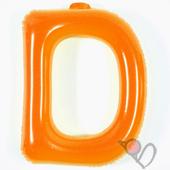 14吋 D-耐久字母-橘[T3]