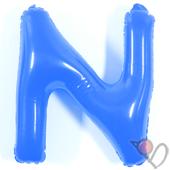 14吋 N-耐久字母-藍[T3]