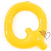 14吋 Q-耐久字母-黃[T3]
