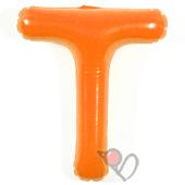 14吋 T-耐久字母-橘[T3]