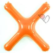 14吋 X-耐久字母-橘[T3]