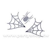 閃亮 半網蜘蛛 刺青紋身貼[T4]