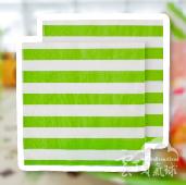 果綠-條紋紙巾/20入[T8]