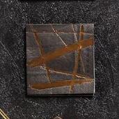 小燙金黑-不規則條紋紙巾/20入[T8]