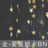 金-星星紙卡BN[T10]
