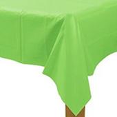 果綠塑膠長桌巾137*274[T3]