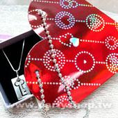 心型珠鍊紙袋/個 [T10]