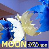 月亮-紙拉花