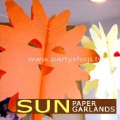 大太陽-紙拉花