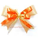 80元緞帶花-橘色系[T2]