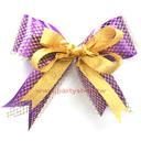 80元緞帶花-紫金[T2]