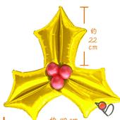 耶誕葉-金-16148