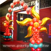氣球拱門-時來運轉[售價3888]