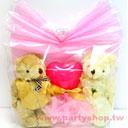 結婚小熊禮物袋<客製商品需先付款>