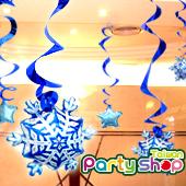 冰晶雪藍吊飾組 / 5個