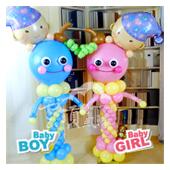 BABY氣球柱 / 單柱[售價1800]