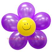 圓-L-(紫)微笑球花DIY/1組入[T3]